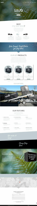CNI Skips Website Design and Development